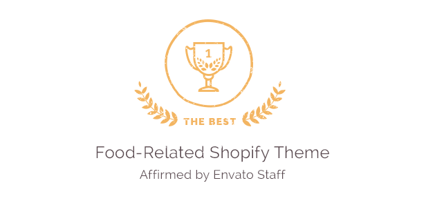 The Best Food-Related Shopify Theme