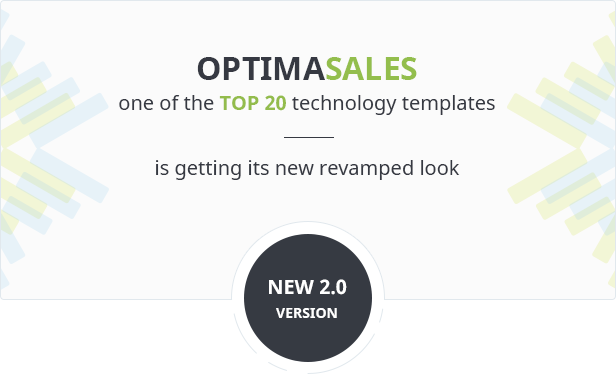 OptimaSales one of the TOP 20 technology templates